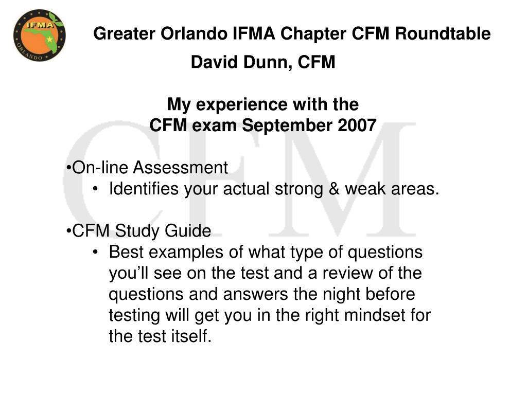 cfm study guide