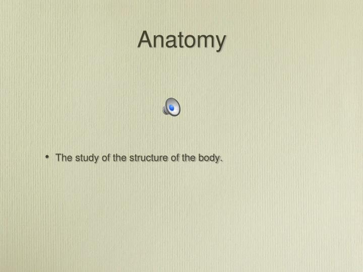 PPT - Clinical Anatomy and Physiology for Veterinary Technicians ...
