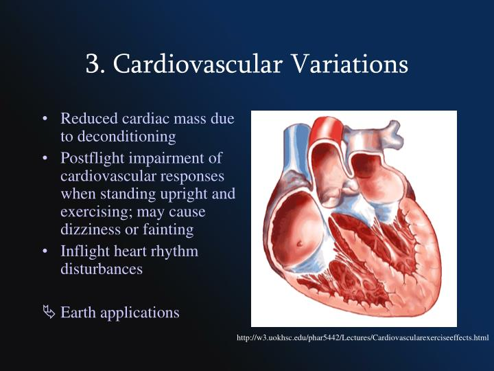 3. Cardiovascular Variations