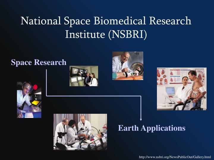 National Space Biomedical Research Institute (NSBRI)