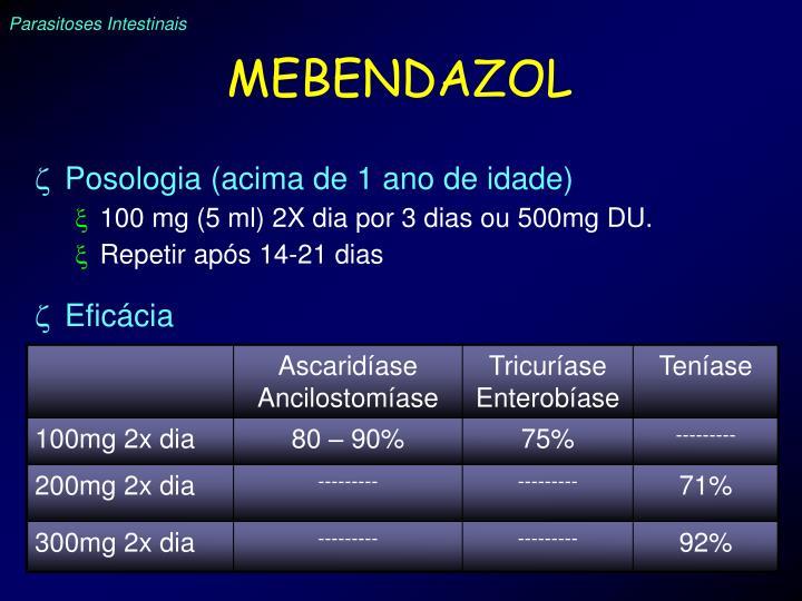 MEBENDAZOL