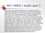 mp3 mpeg 1 audio layer 3