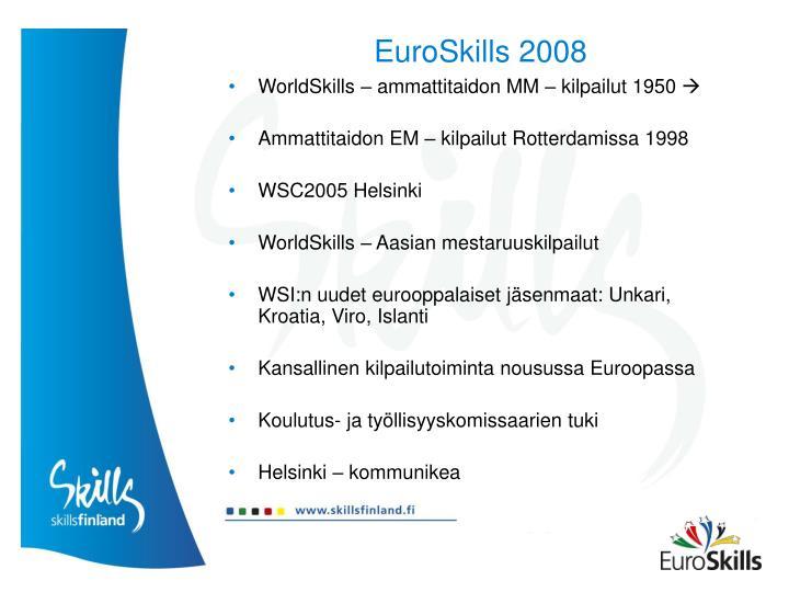 Euroskills 20081