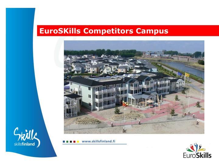 EuroSKills Competitors Campus