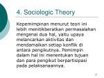 4 sociologic theory