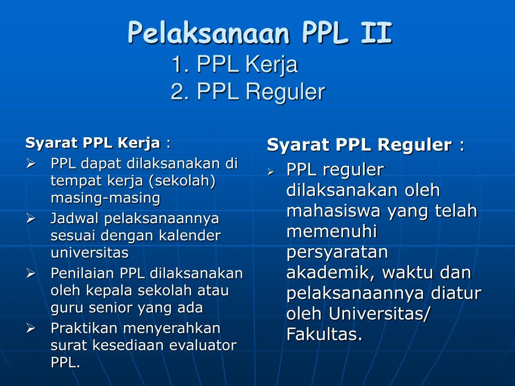 Ppt Mekanisme Kerja Ppl Powerpoint Presentation Id4597132
