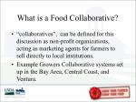 what is a food collaborative