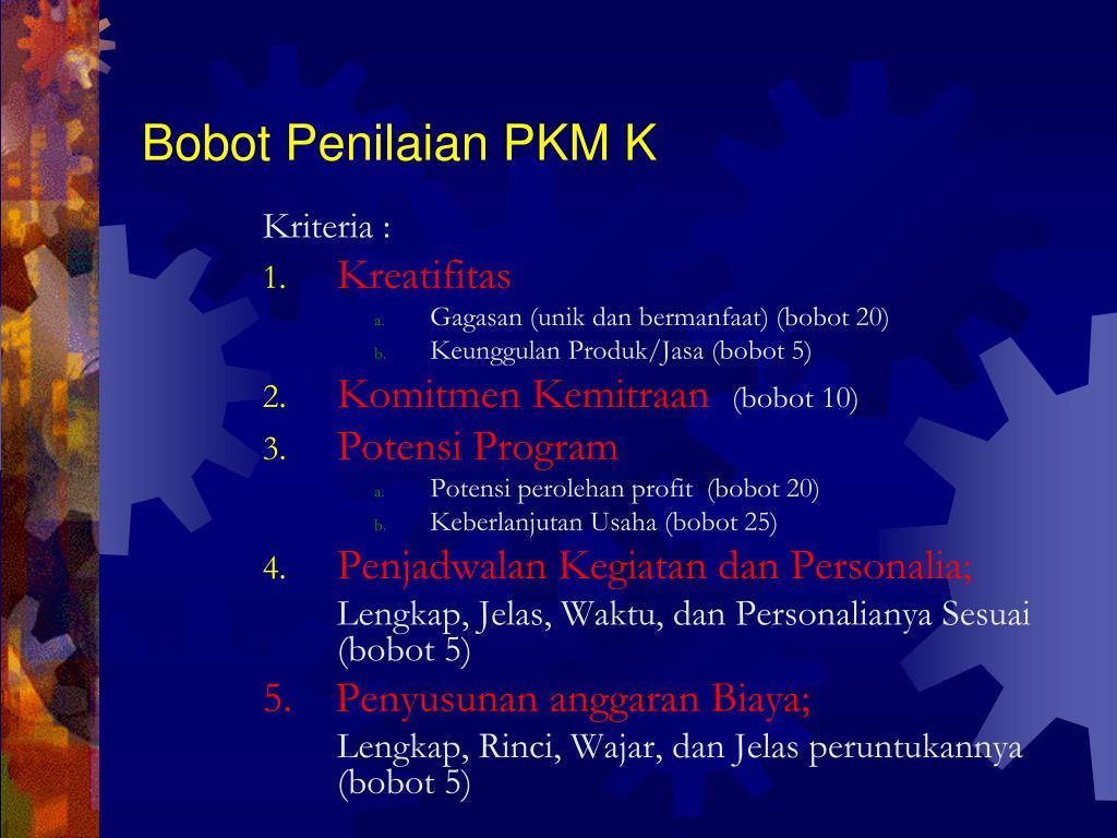 Ppt Pkm Kewirausahaan Pkm K Powerpoint Presentation Free Download Id 4597320
