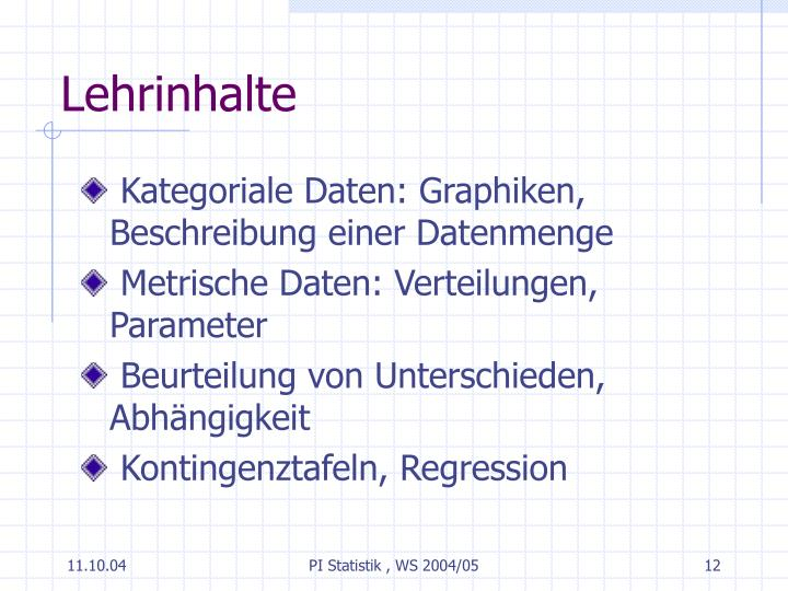 PPT - PI Statistik PowerPoint Presentation - ID:4597390