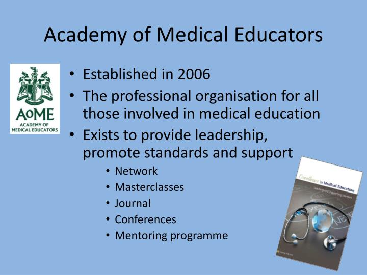 Academy of Medical Educators