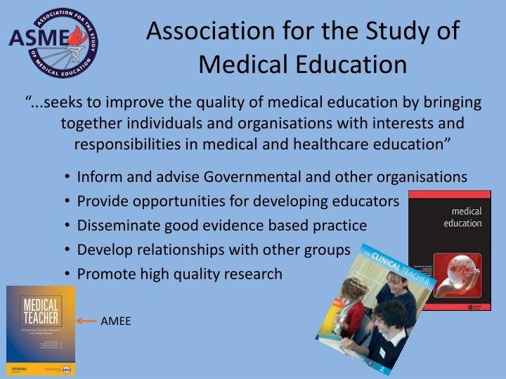 Association for the Study of Medical Education