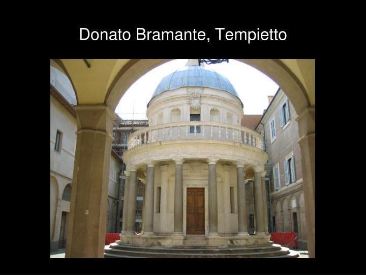 Donato Bramante, Tempietto