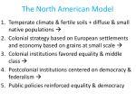 the north american model
