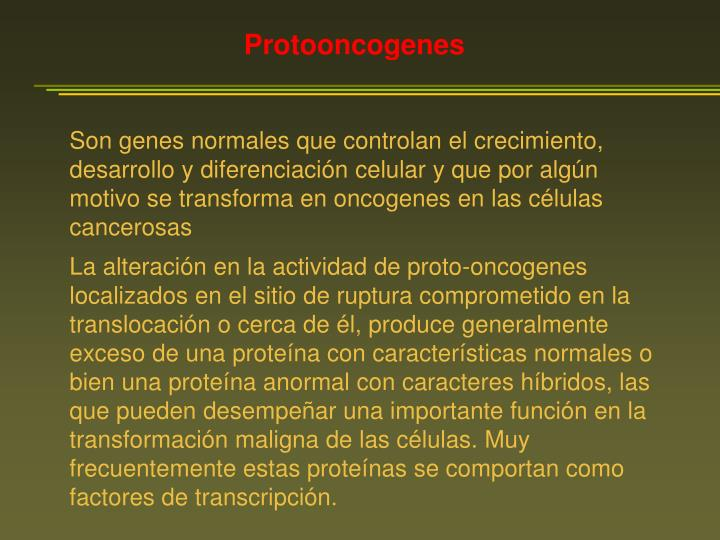 Protooncogenes