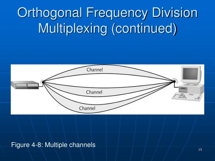 Orthogonal Frequency Division Multiplexing (continued)