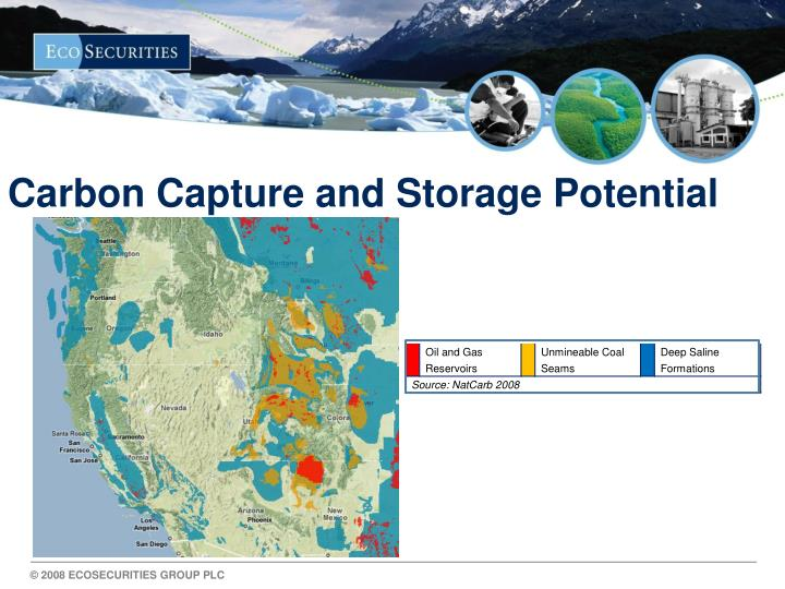 Carbon Capture and Storage Potential