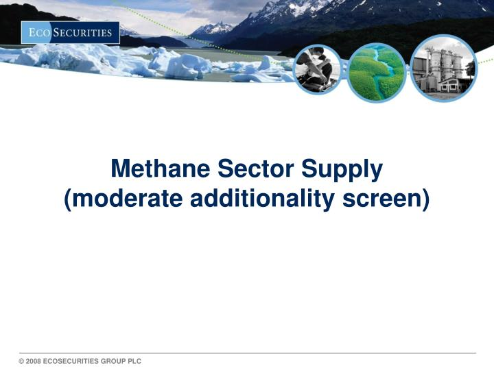 Methane Sector Supply