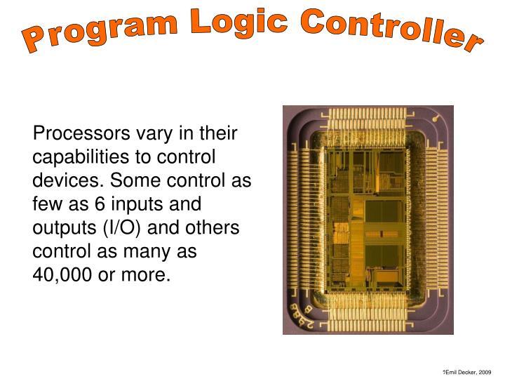 Program Logic Controller