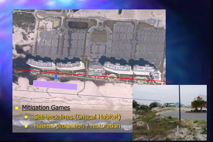 Mitigation Games