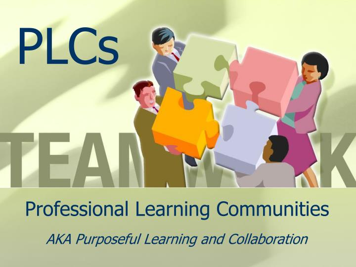 professional learning communities n.