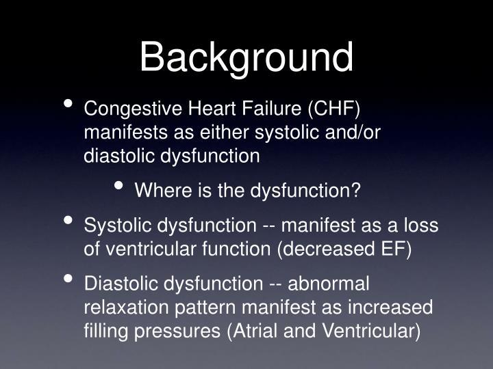 manifest dysfunction