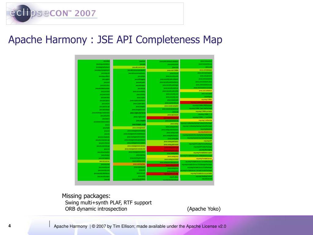 PPT - Apache Harmony PowerPoin...