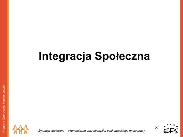 Integracja Społeczna