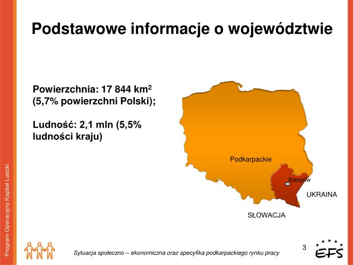 Powierzchnia 17 844 km 2 5 7 powierzchni polski ludno 2 1 mln 5 5 ludno ci kraju