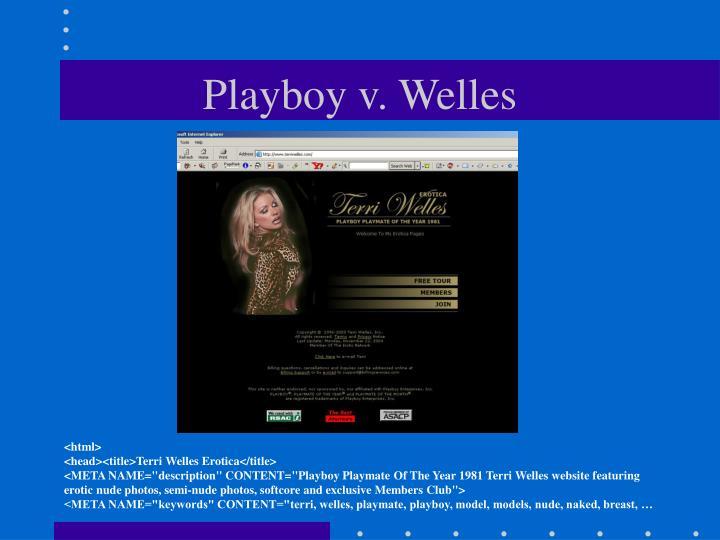 Playboy v. Welles