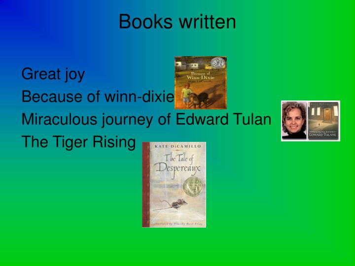 Books written
