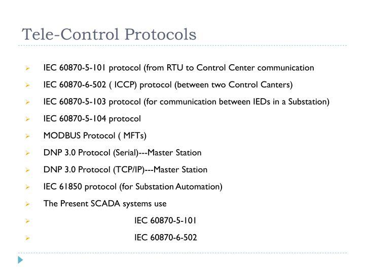 Tele-Control Protocols