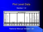 plot level data2