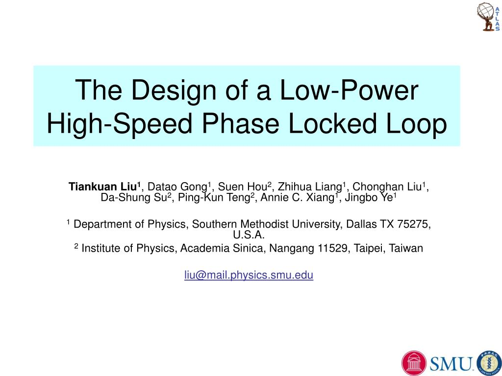 Ppt The Design Of A Low Power High Speed Phase Locked Loop Wideband Voltage Controlled Oscillator Circuit Composed Cd4046 N