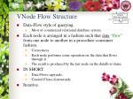 vnode flow structure