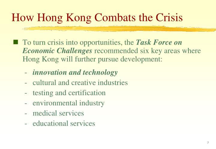 How Hong Kong Combats the Crisis