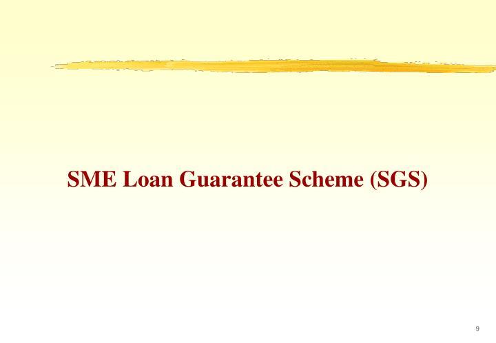 SME Loan Guarantee Scheme (SGS)