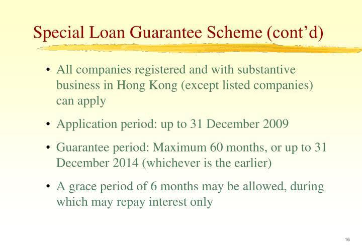 Special Loan