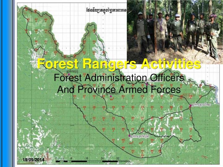Forest Rangers Activities