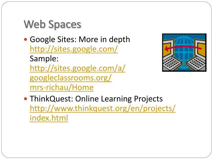 Web Spaces
