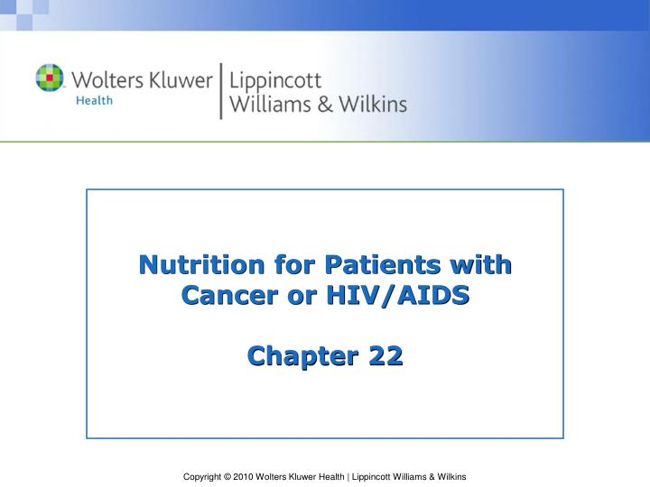 hiv and cancer ppt