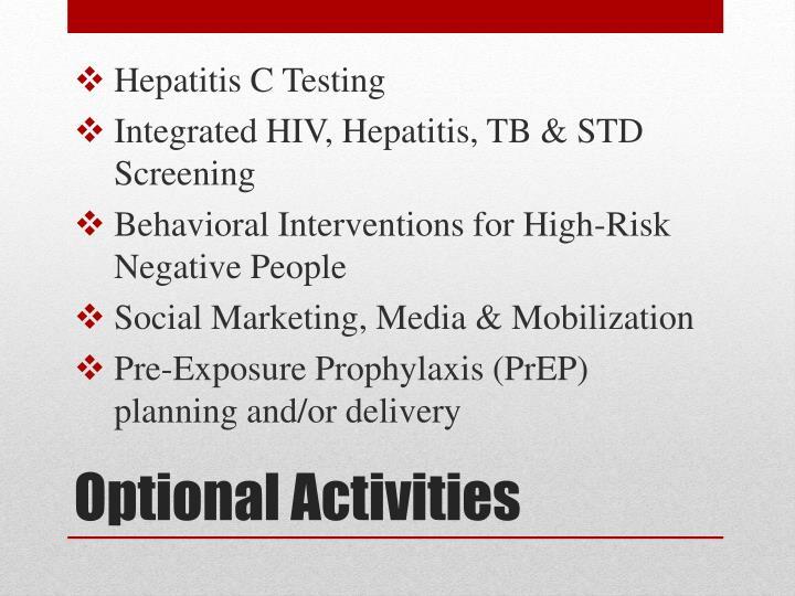 Hepatitis C Testing