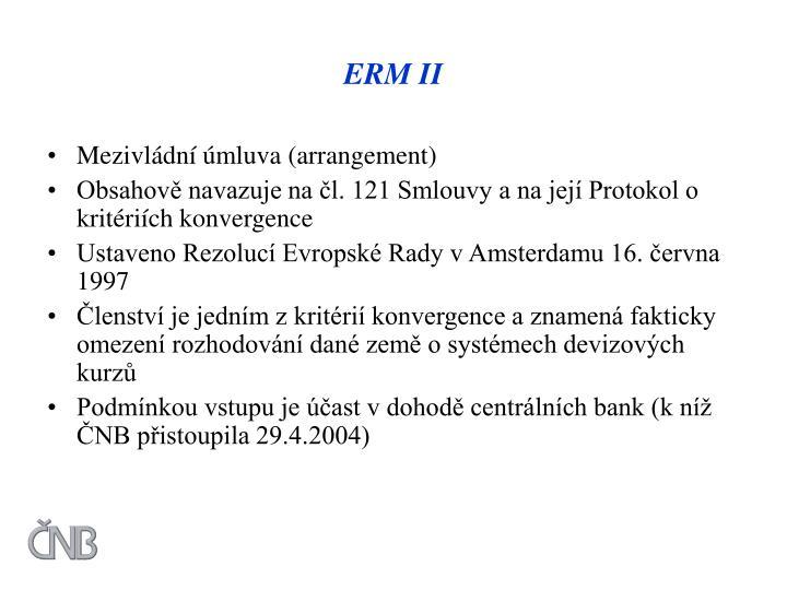 ERM II