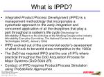 what is ippd