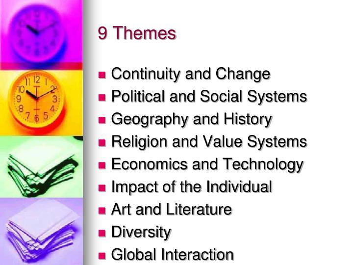 9 themes