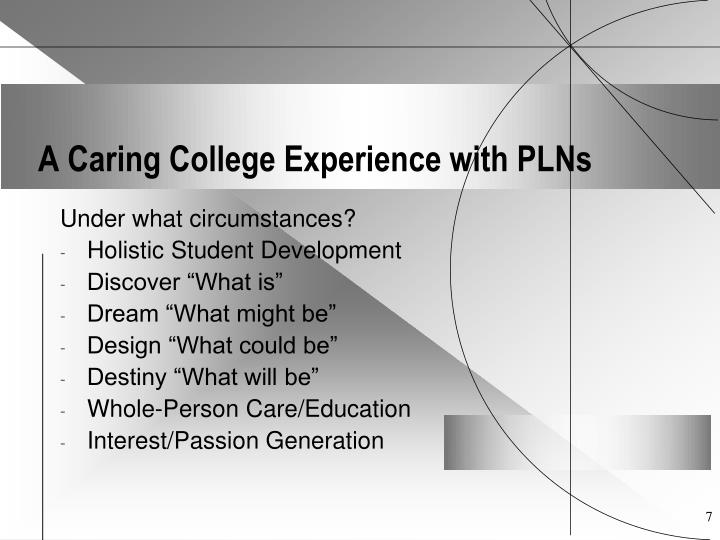 a personal account of the presentation experience at the university Student nurse placement reflection and personal  berkshire: open university  the following care plan will be based on a personal experience with.