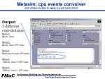 metasim cpu events convolver pick simple models to apply to each basic block