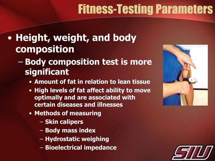 Fitness-Testing Parameters