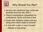 why should you plan