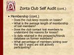 zonta club self audit cont1