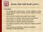 zonta club self audit cont2
